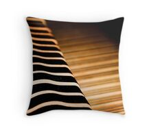 Inside the Piano Throw Pillow