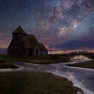 Milky Way On The Marsh by Dave Godden