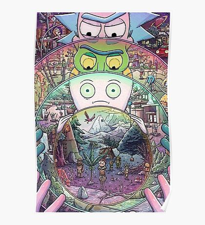 Rick's Multiverse Poster