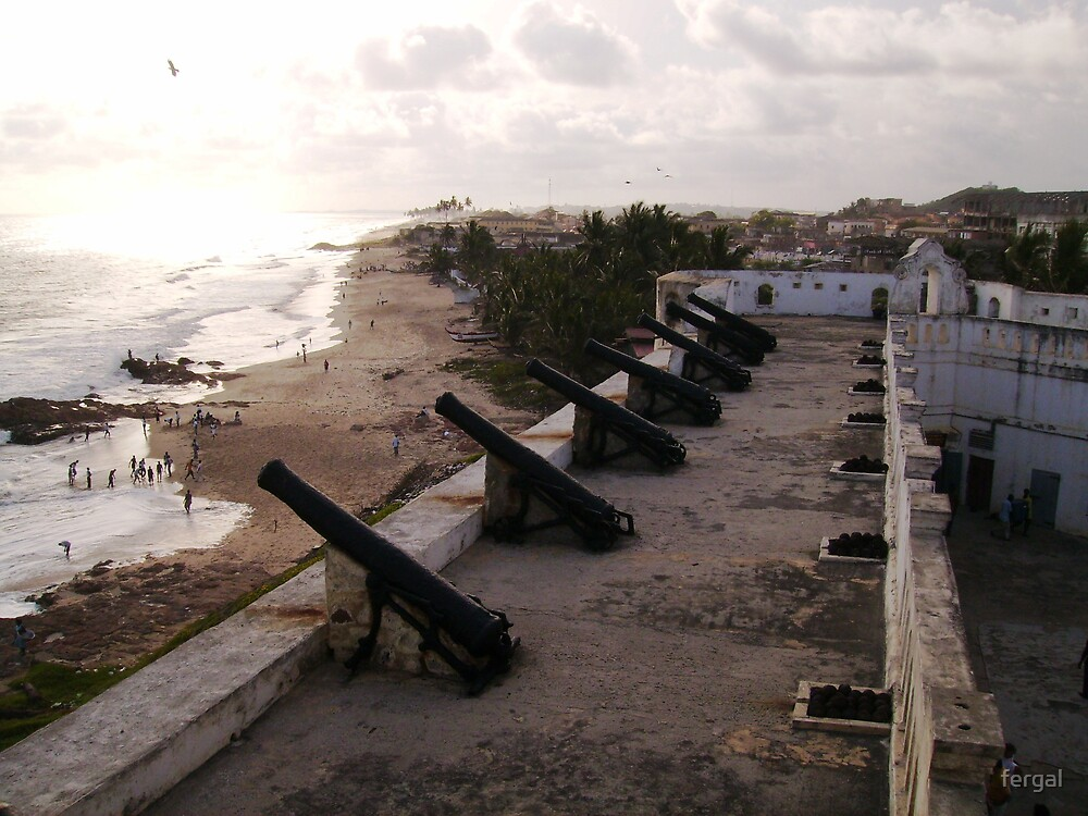 Cape Coast Castle, Ghana by fergal