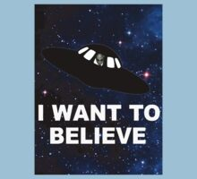 I Want to Believe 2014 V1 ( Clothing & Stickers ) Kids Clothes