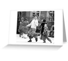 May Day Protest Greeting Card