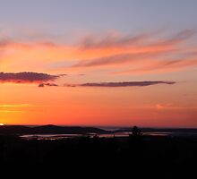 donegal sunset by mockbird