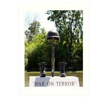 War on Terror Art Print