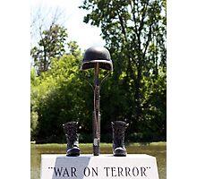 War on Terror Photographic Print