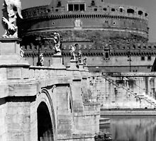 Castel Sant'Angelo in Rome by iristudiophoto