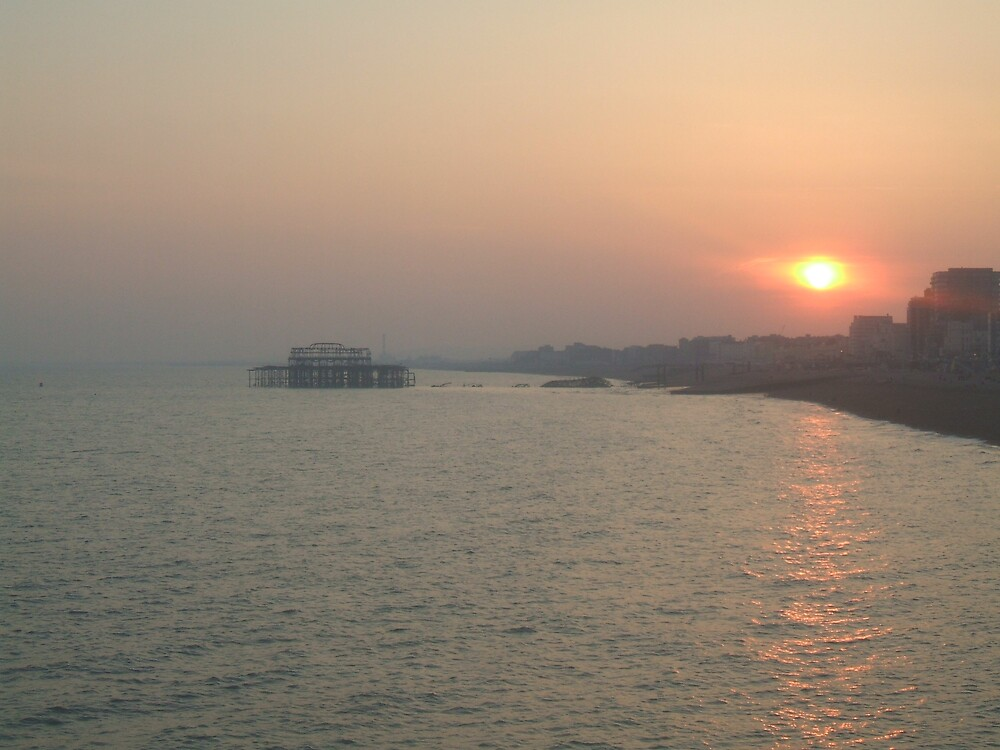 Brighton Sunset by Nx75
