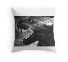 Loup Garou Throw Pillow