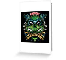 Dia De Los Mutantes Leo Greeting Card