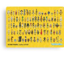 92 Card Back Canvas Print