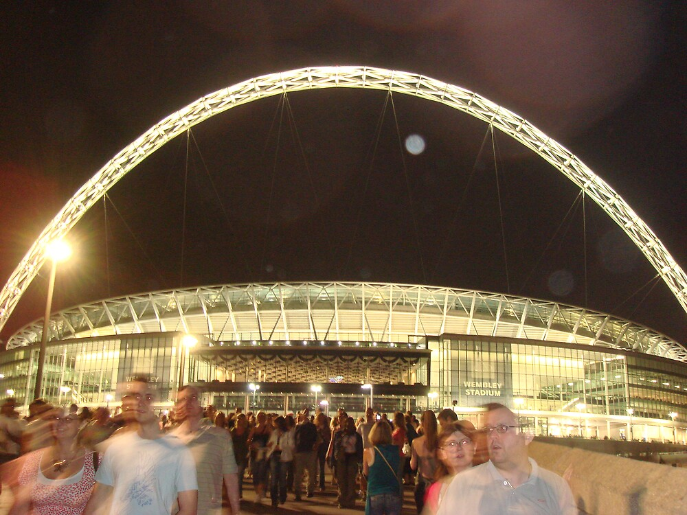 Wembley Stadium June 2007 by kglee28