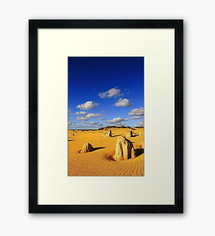 Pinnacles - Western Australia  Framed Print