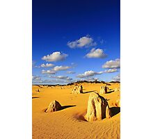 Pinnacles - Western Australia  Photographic Print