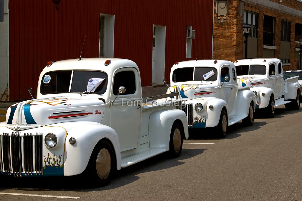 White Trucks by Tom Causley