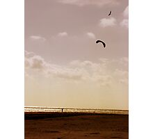 riding the wind Photographic Print