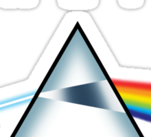ATHEISM - A prism for seeing the light (Light backgrounds) Sticker