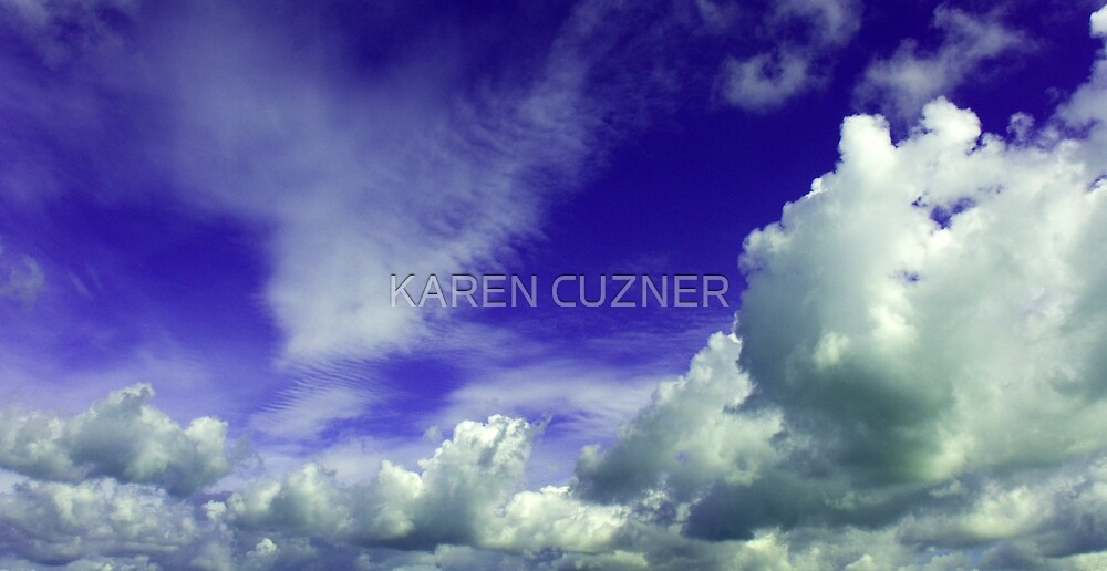 CLOUDY SKY by KAREN CUZNER
