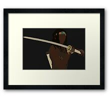 Michonne - The Walking Dead Framed Print