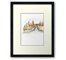 Autumns Day Framed Print