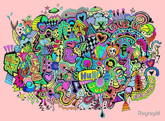 Inside my mind by RayrayM