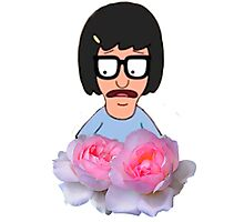 Tina Belcher - Flowers Photographic Print