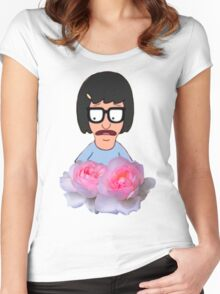 Tina Belcher - Flowers Women's Fitted Scoop T-Shirt