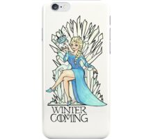 Frozen Winter is Coming iPhone Case/Skin