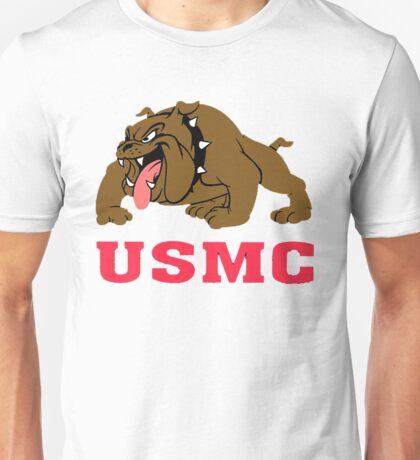 Marines Bulldog Unisex T-Shirt
