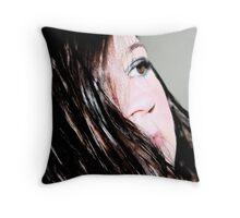 her beauty Throw Pillow