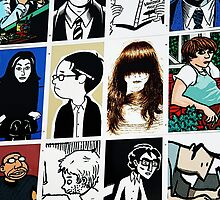 Graphic novels rule the world by Roxy J