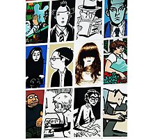 Graphic novels rule the world Photographic Print
