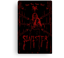 (Even More) Sinister Canvas Print