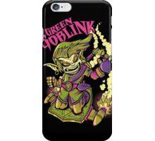 GREEN GOBLINK iPhone Case/Skin