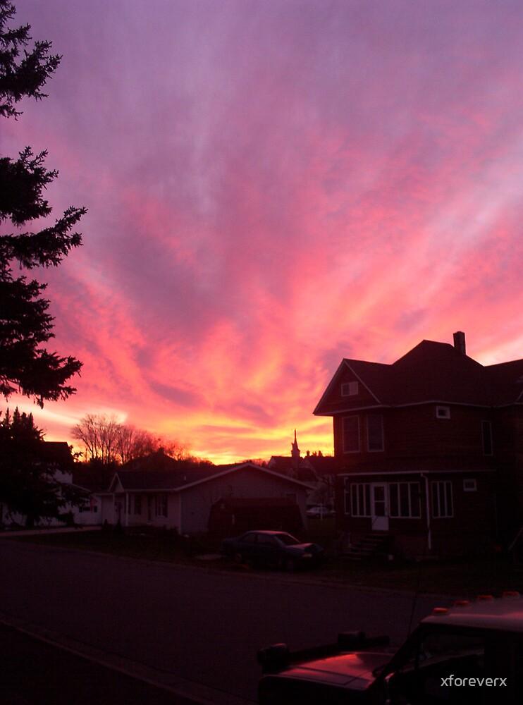 Sunset of Dooooom by xforeverx