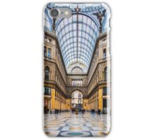 Naples - Inside The Principe Umberto I Gallery iPhone Case/Skin