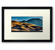 Dawn over the Dunes Framed Print