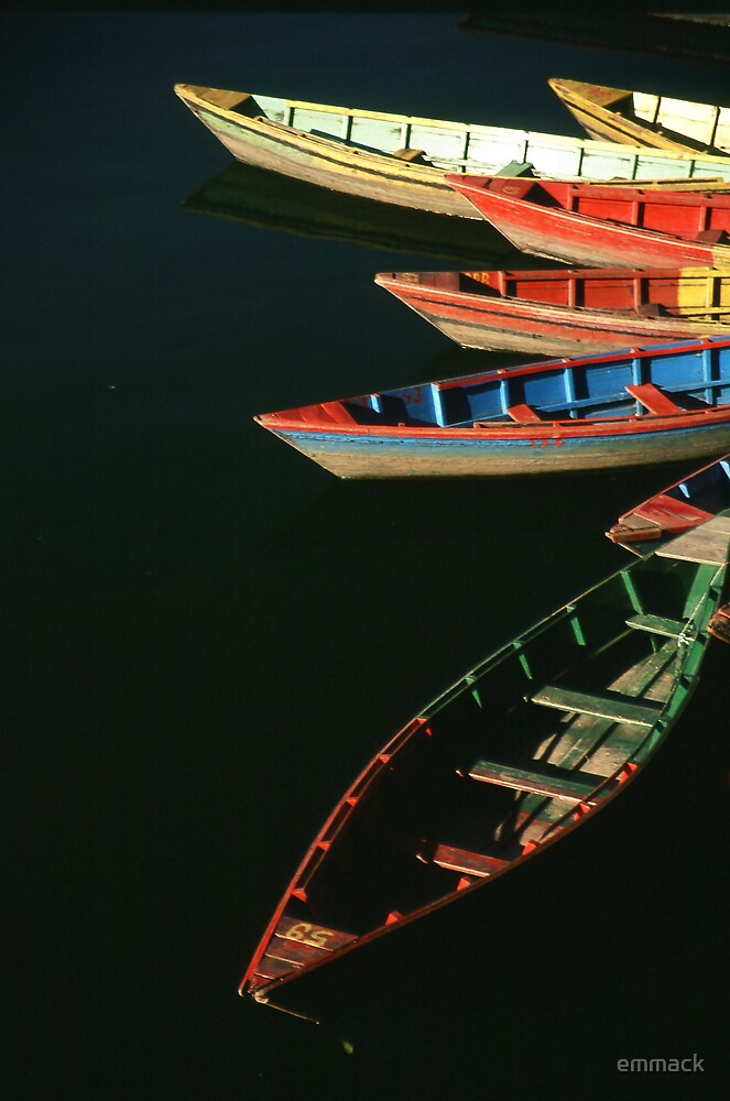 Petal Boats, Nepal by emmack