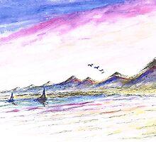 Purple Skies by Teresa White