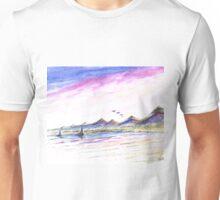 Purple Skies Unisex T-Shirt