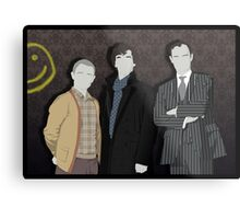 Sherlock Office party Metal Print