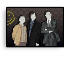Sherlock Office party Canvas Print