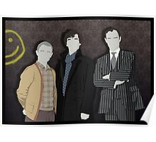 Sherlock Office party Poster