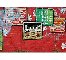 Brighton graffiti Photographic Print