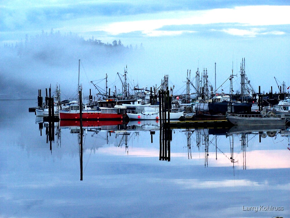 Morning Fog 1 by Larry Kohlruss