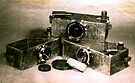 My Dad's homemade camera's by Juilee  Pryor