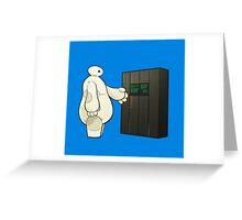 Be Interstellar Hero Greeting Card