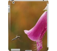 Hover Fly with Foxglove iPad Case/Skin