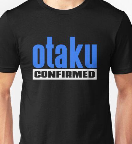 Otaku Confirmed (Blue / White) Unisex T-Shirt