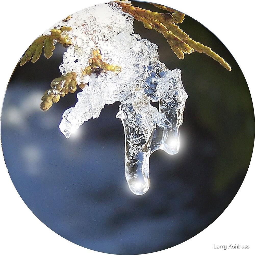 Ice Lights 2 by Larry Kohlruss