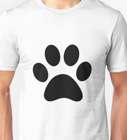 Cute Dog Paw Print Unisex T-Shirt